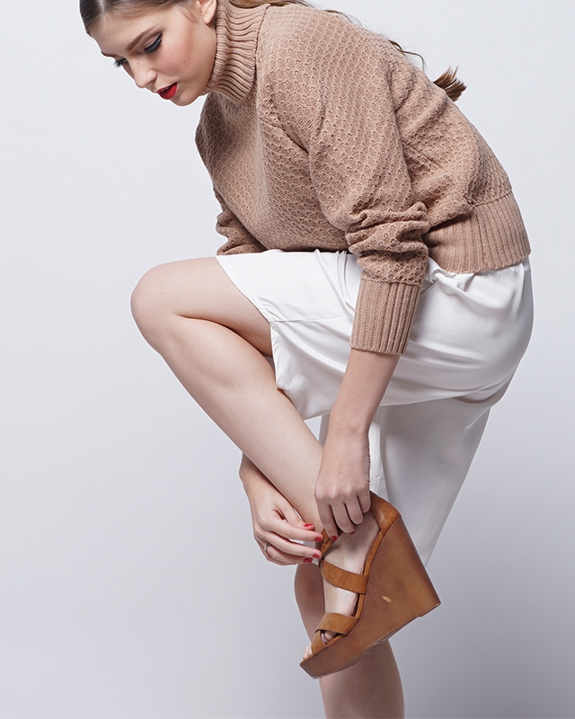 Light Brown Turtleneck